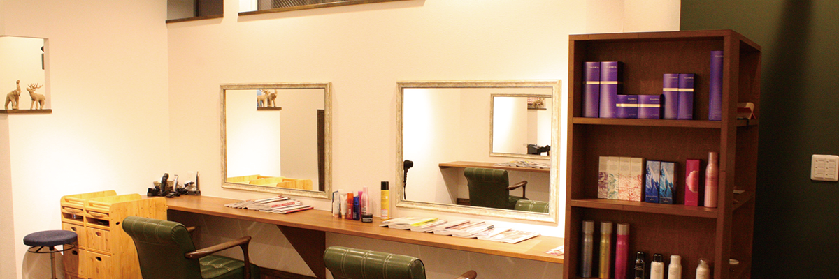 弘前美容室branch内装の写真4