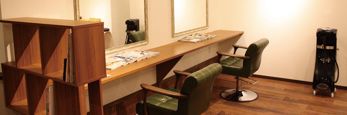 弘前美容室branch内装の写真2